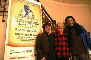 Caio Lopes, Juca Chaves e Alexandre
