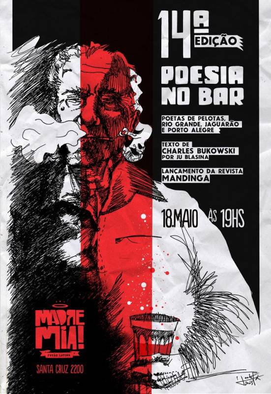 poesia no bar cartaz 551x800 Poesia no Bar no Madre Mia