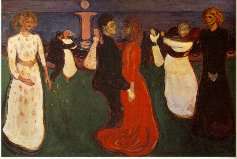 """Dance of Life"" by Edvard Munch"
